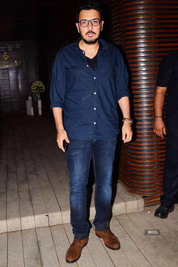 Dinesh Vijan attends the success party