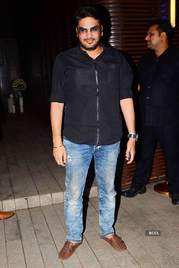 Mukesh Chhabra attends the success party