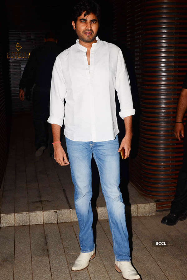 Harry Anand attends the success party