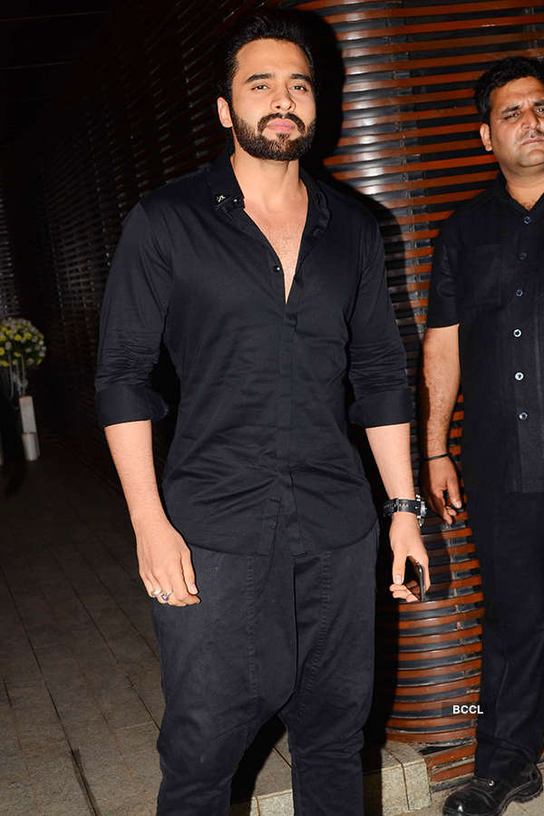 Jackky Bhagnani attends the success party