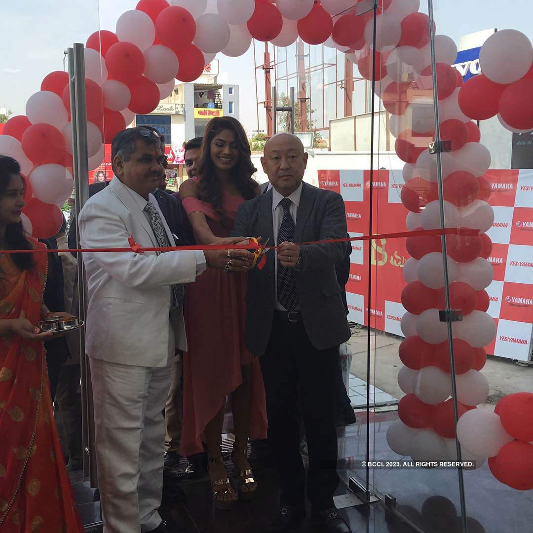 Lopamudra Raut at Yamaha inauguration