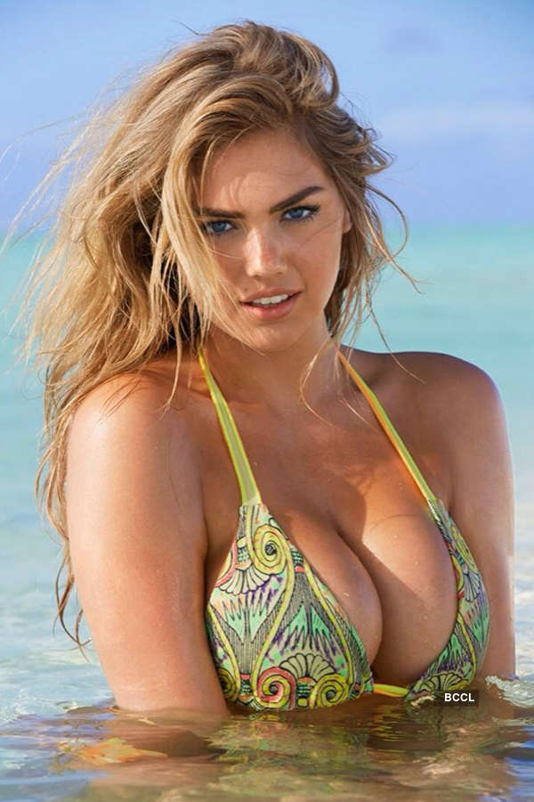 American model and actress Kate Upton is one of the voluptuous vixens