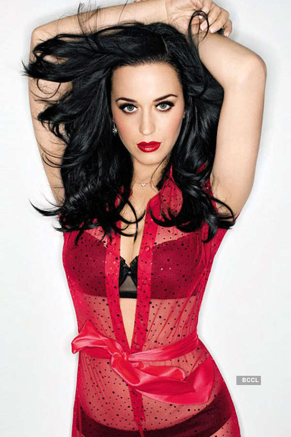 Singer Katy Perry has no qualms in accepting that she loves her fuller figure
