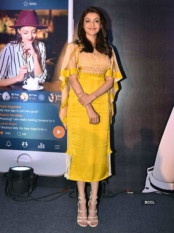 Kajal Aggarwal launches her official app