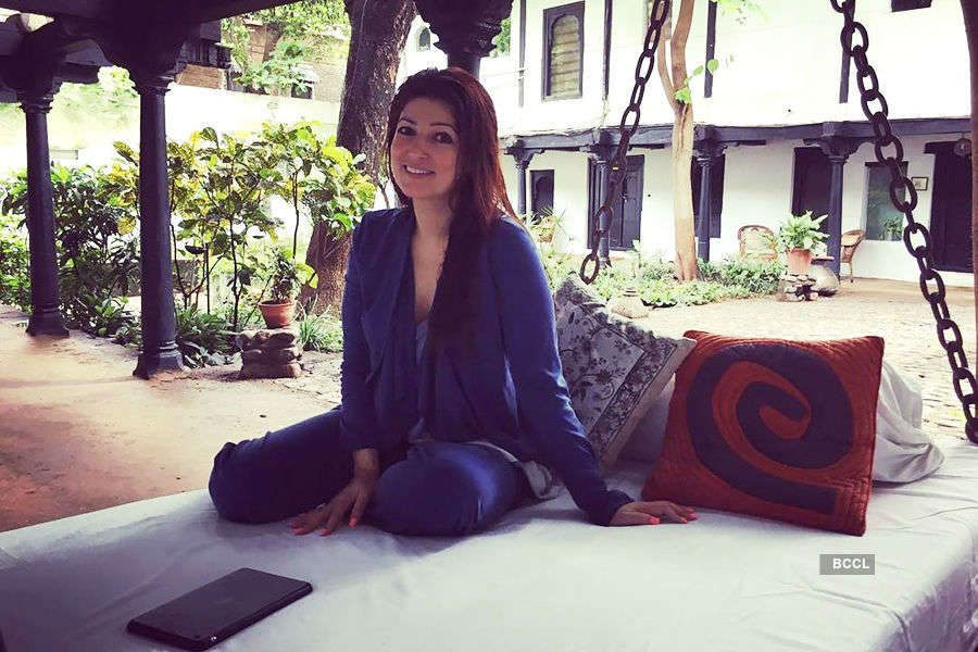 Twinkle Khanna's strange advice to UP CM Yogi Adityanath
