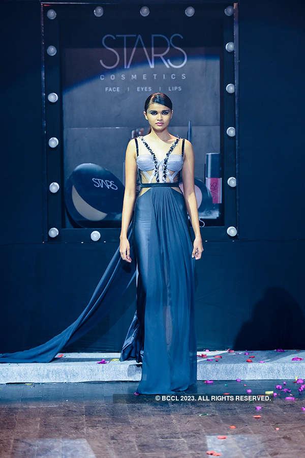 Models walk the ramp for Stars Cosmetics