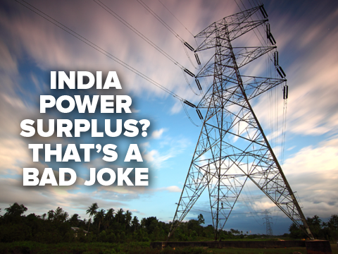 infographic india power surplus that s a bad joke times of india