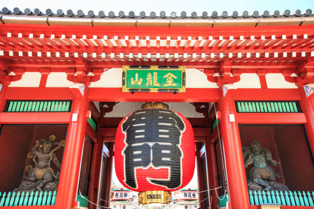 Shrines and temples in Asakusa