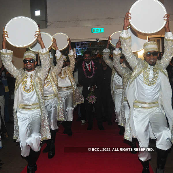Maqbool Salman and Almaz's wedding ceremony