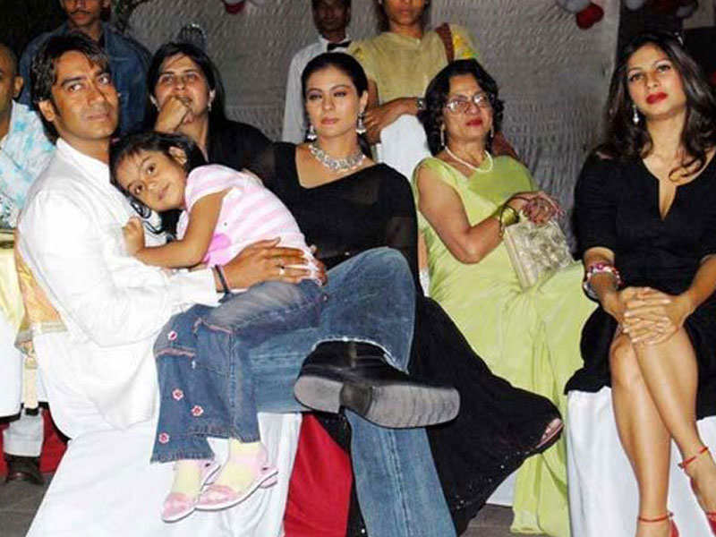 Ajay devgn with wife kajols family altavistaventures Gallery