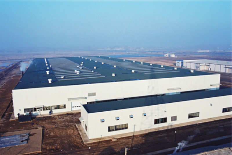 Front view_Nampo factory