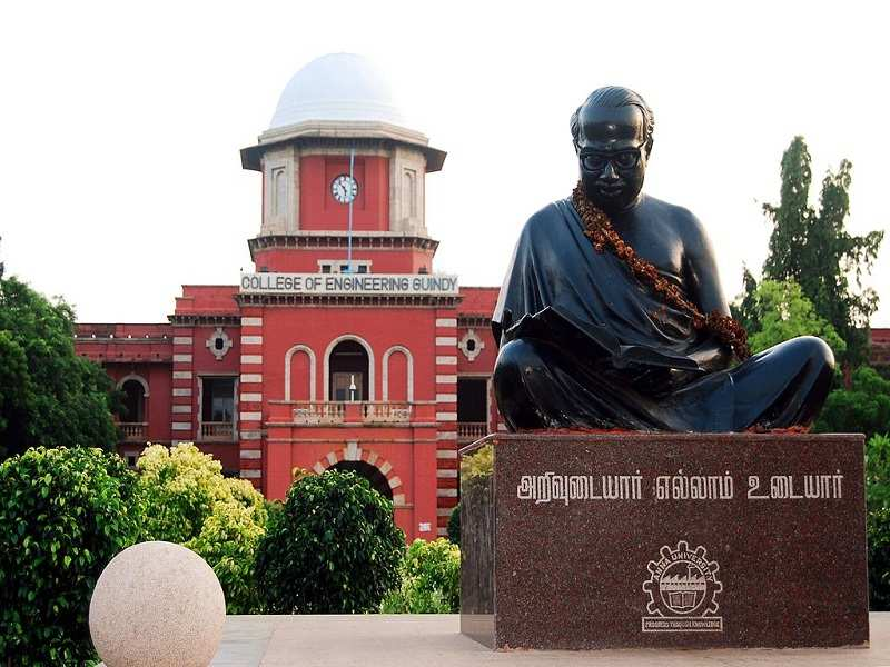 Best engineering colleges in India  Anna University, Chennai