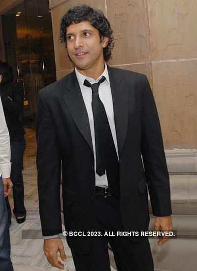 Farhan at IPL