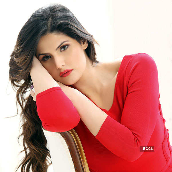 Zareen Khan watches horror film every night!