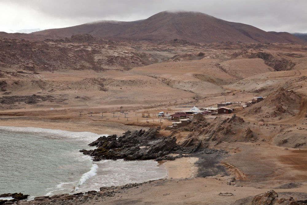 Puerto Inca Beach