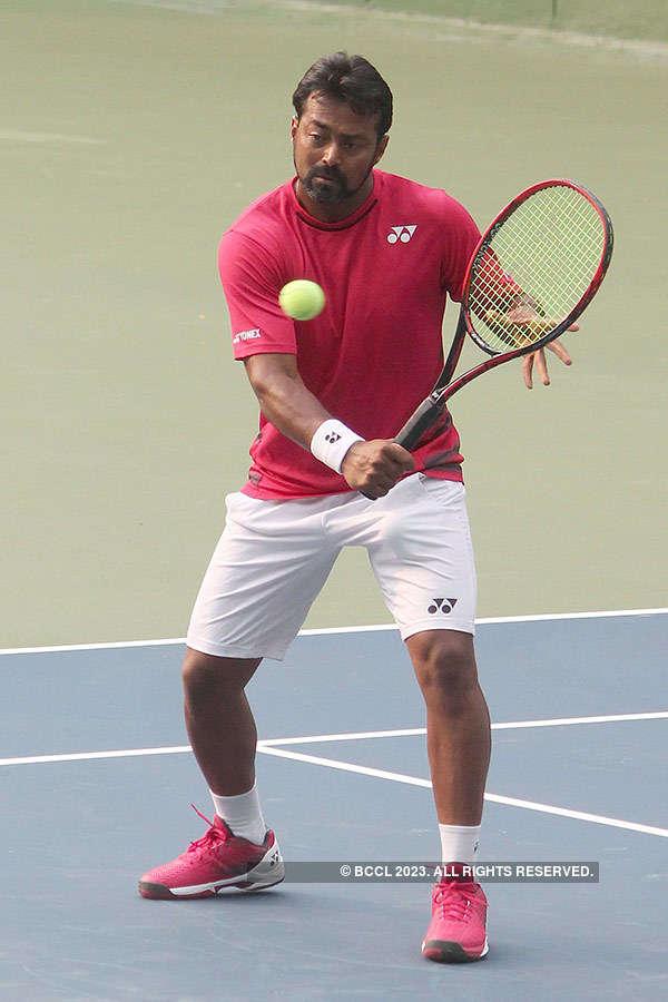 Leander Paes dropped for Davis Cup tie vs Uzbekistan