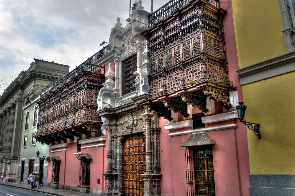 Torre Tagle Palace, Lima
