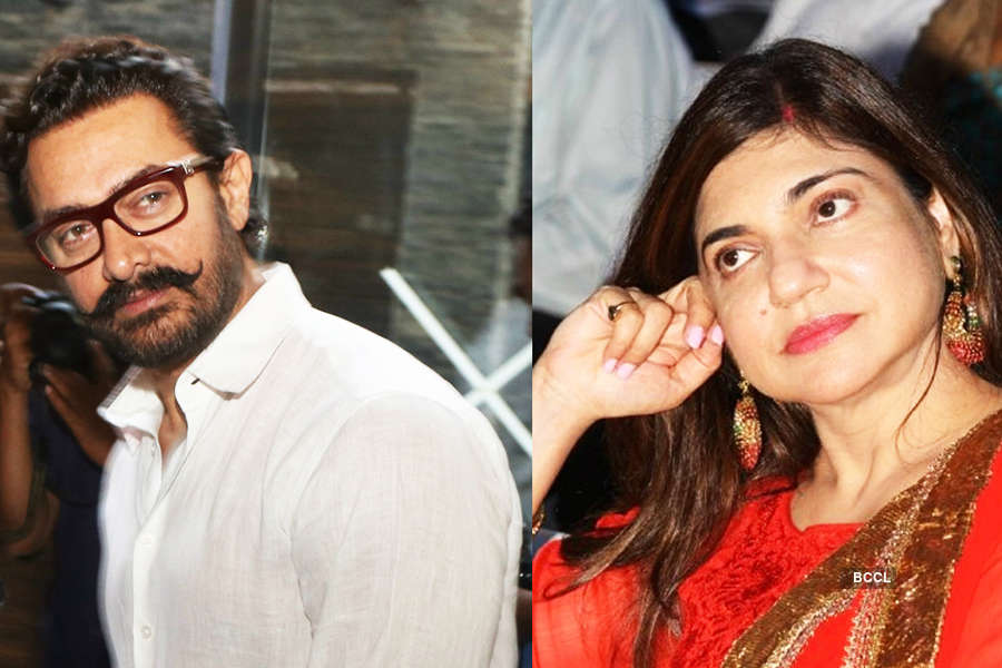 Alka Yagnik threw Aamir Khan out of the room by mistake...