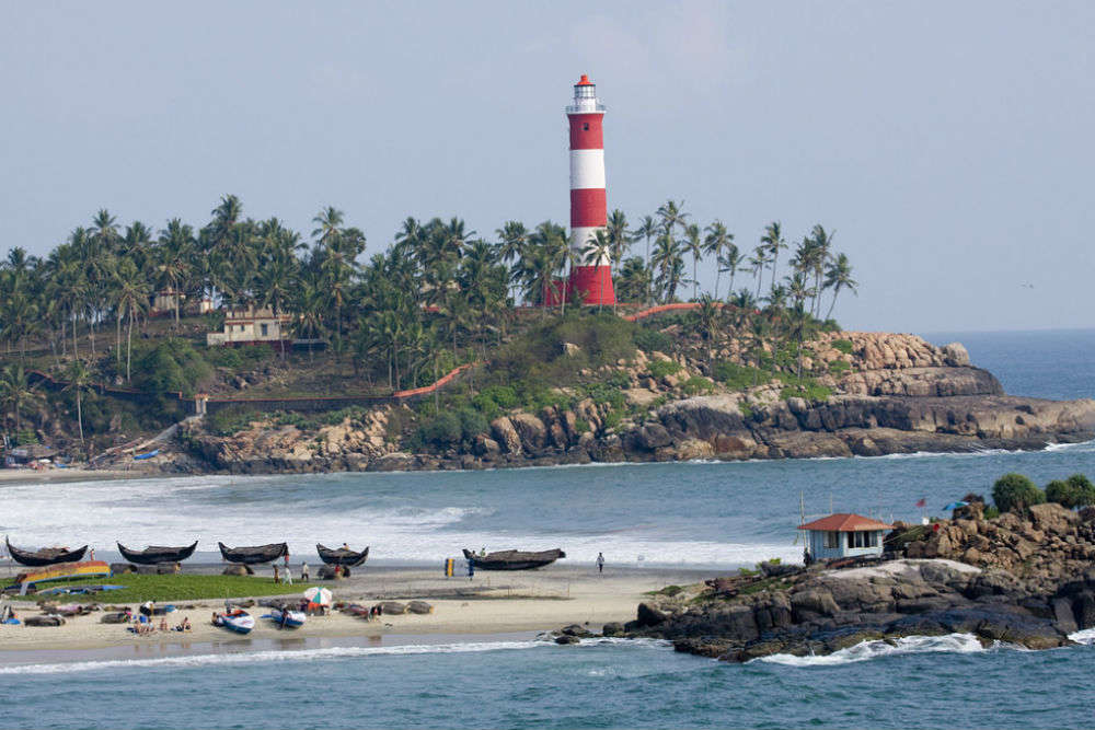 Climb up the Kovalam Lighthouse