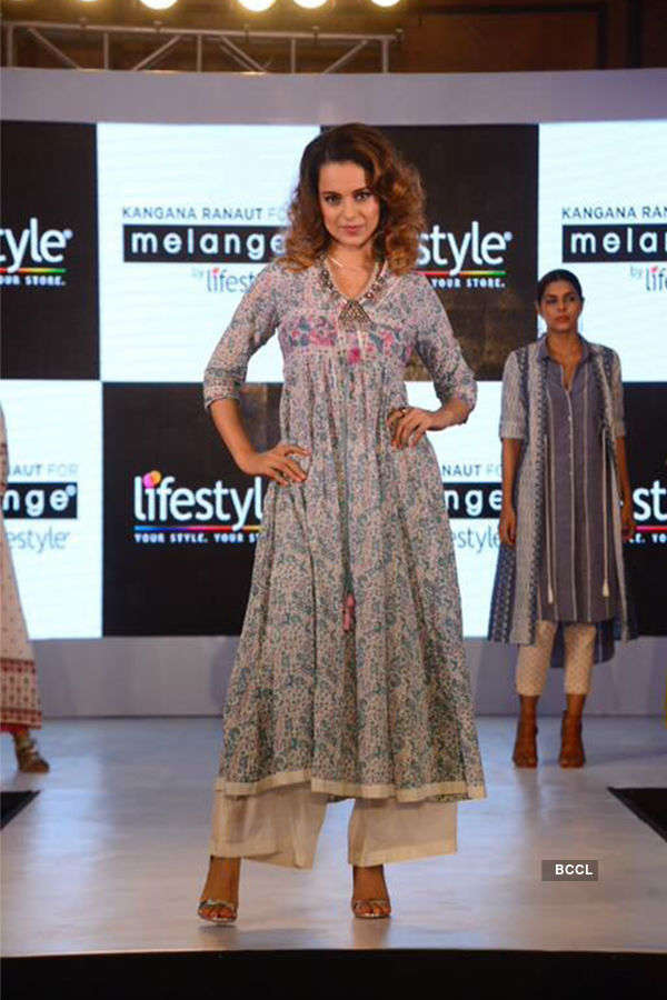 Kangana launches Melange collection