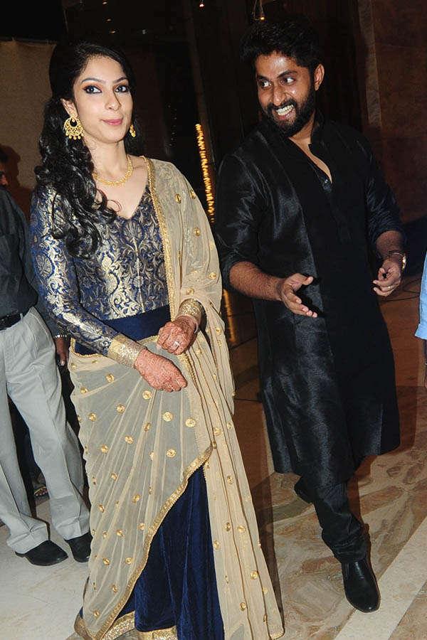 Dhyan Sreenivasan & Arpita's wedding reception