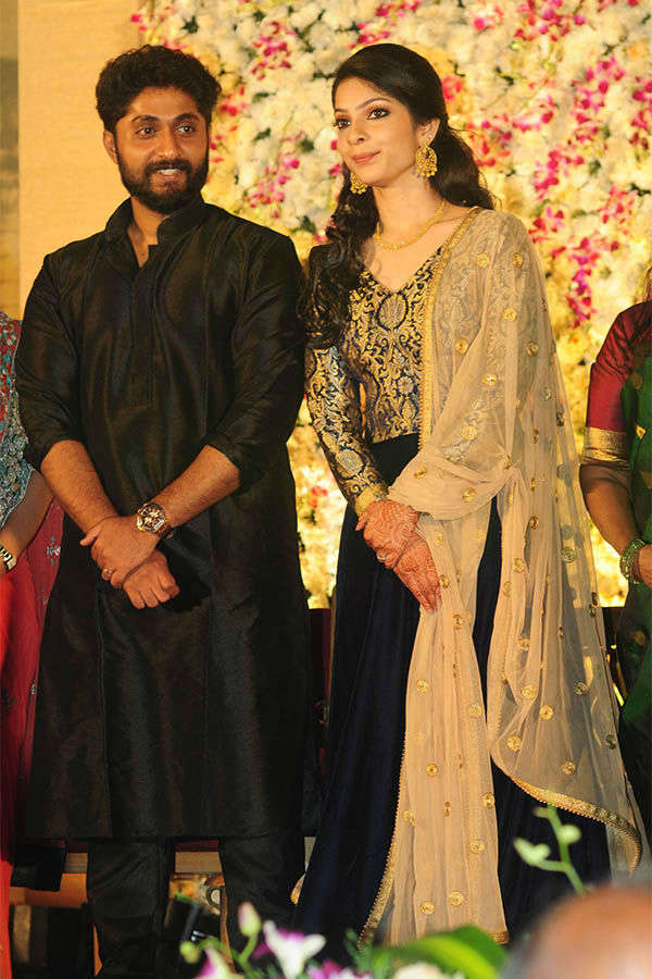 Dhyan Sreenivasan & Arpita's wedding reception