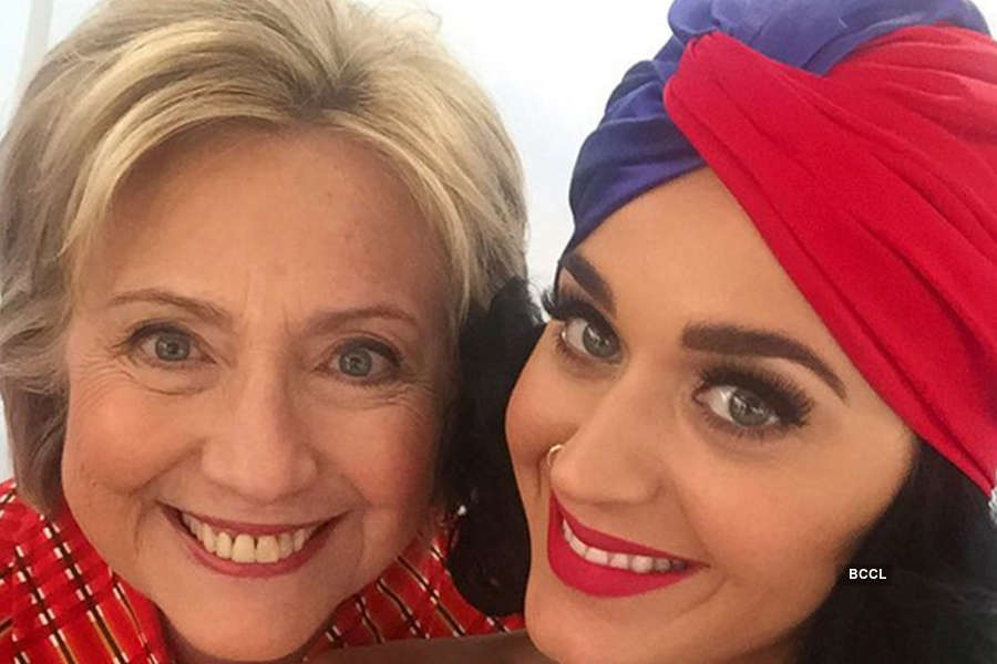 Rumour has it that Hillary Clinton hired Katy Perry
