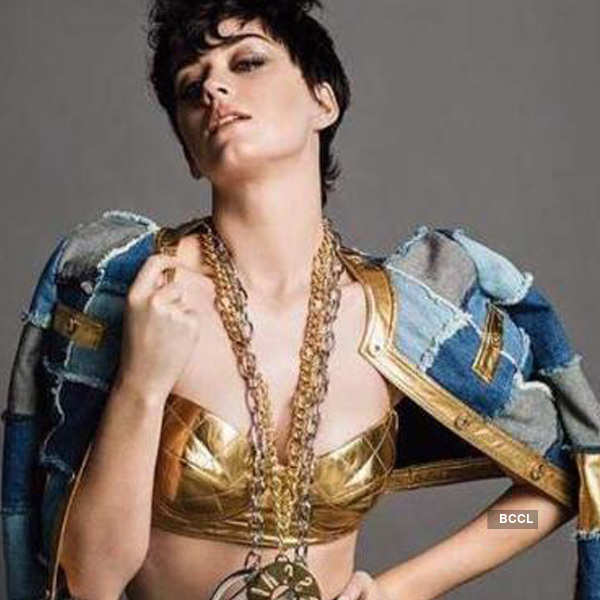 Katy Perry nailed the look
