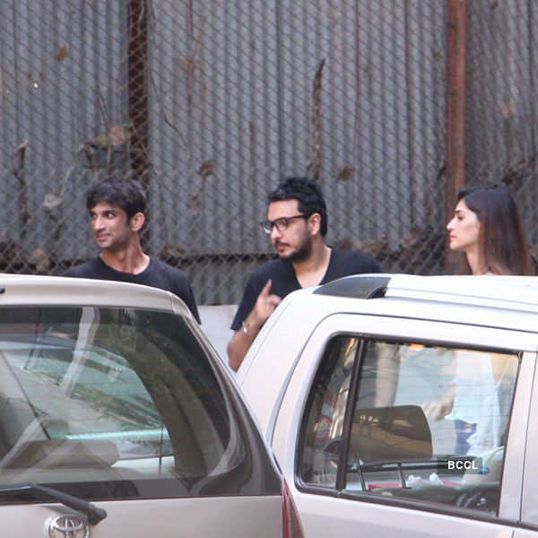 Sushant takes Kriti for a spin in his new 1.5 crore car