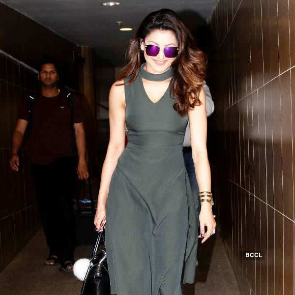 Five airport looks to steal from Urvashi Rautela
