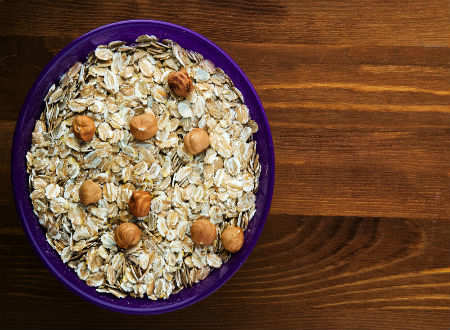 What happened when I ate oats every morning for a week