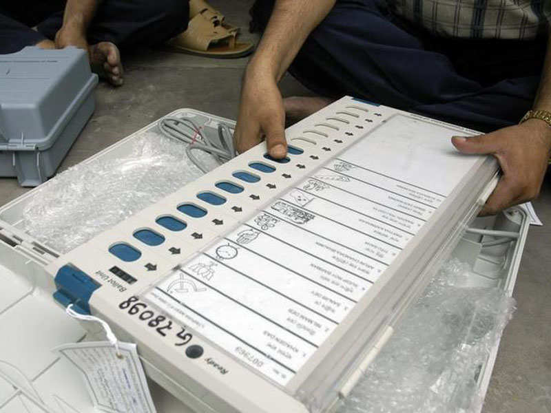 Election Commission throws 'open challenge': From first week of May, try  and hack our EVMs