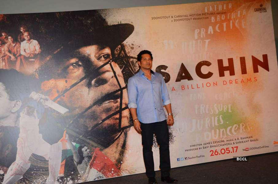 Sachin: A billion dreams trailer launch