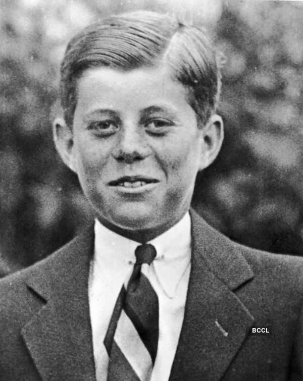 Powerful leaders when they were young