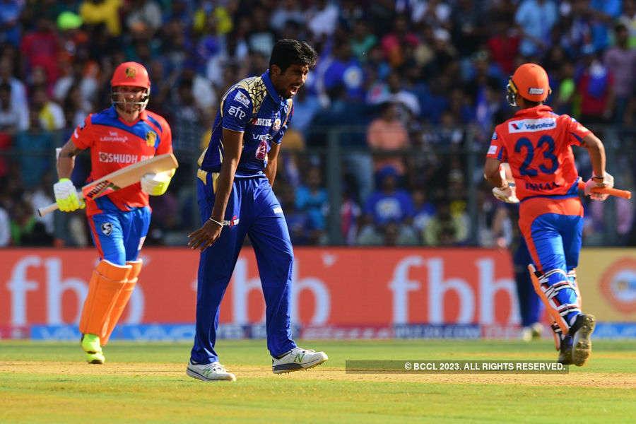 In pics: MI vs GL IPL match highlights