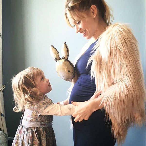 Kimberly wyatt with her daughter
