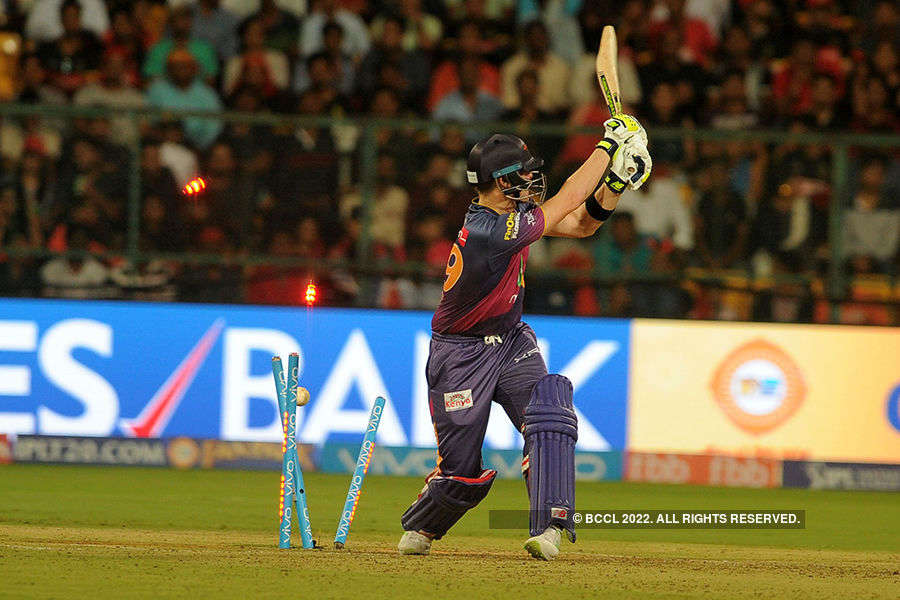 In pics: RPS vs RCB IPL match highlights
