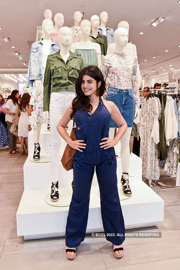 Socialites attend H&M Conscious Exclusive Shopping Event