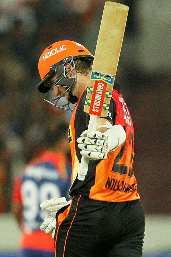 In pics : SRH and DD match highlights