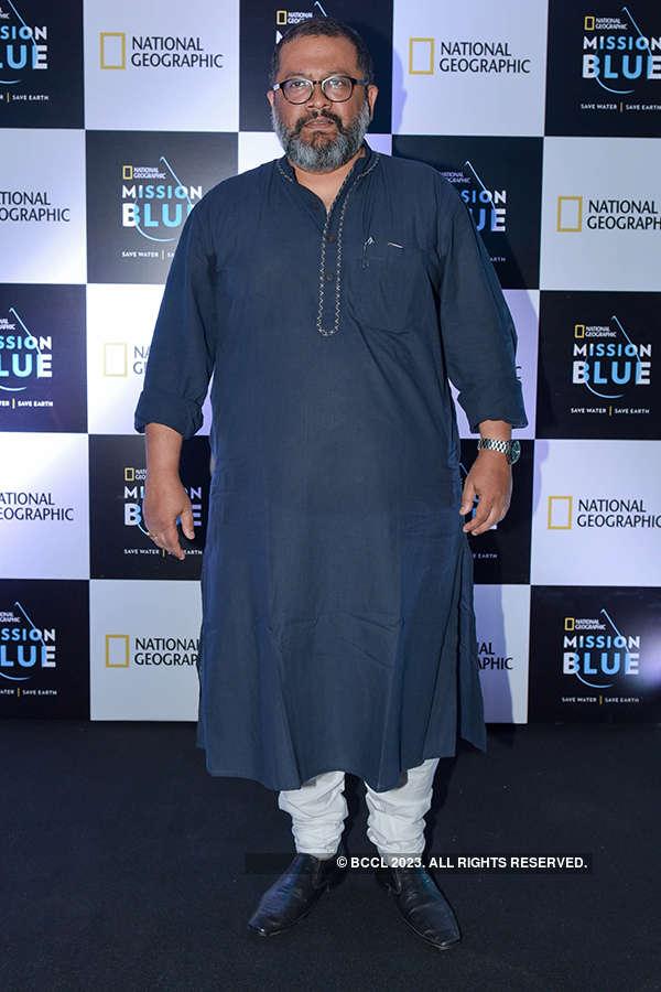 Farhan at Mission Blue campaign