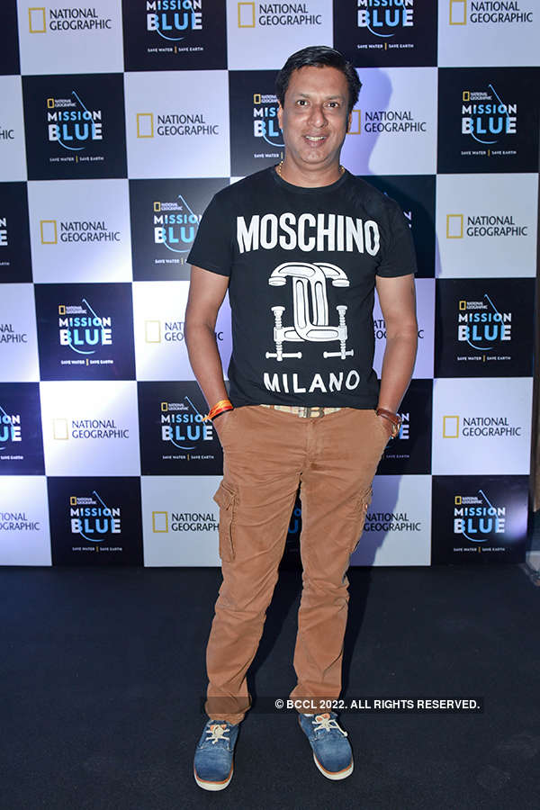 Farhan at Mission Blue campaign