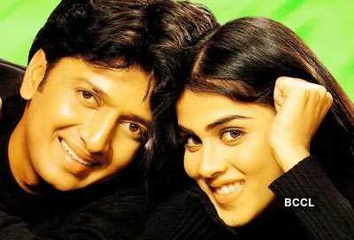 Riteish-Genelia spotted on a date
