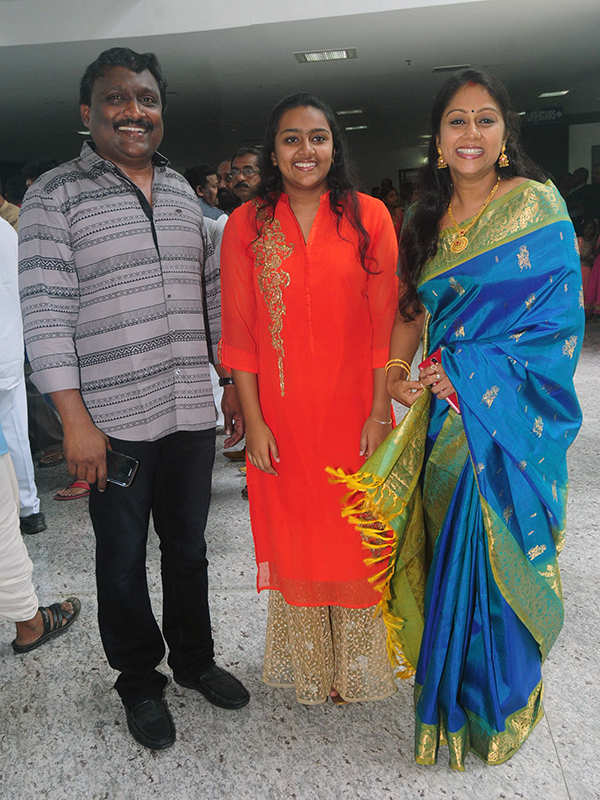 Nikhila Vinay and Nikhil Menon's wedding ceremony