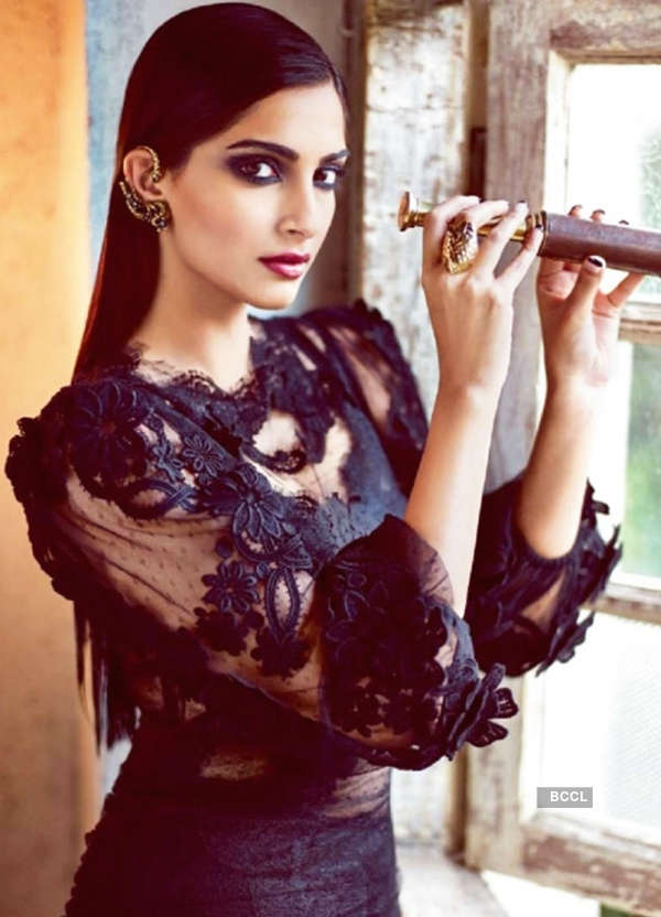 You might call me a 'bimbo', but I'm a terribly self-assured woman, says Sonam Kapoor