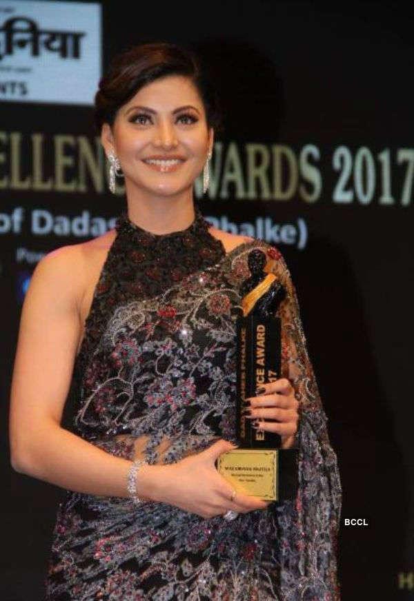 Urvashi Rautela wins Dadasaheb Phalke Excellence Award