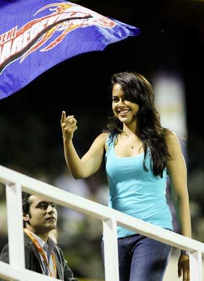 Sameera at IPL