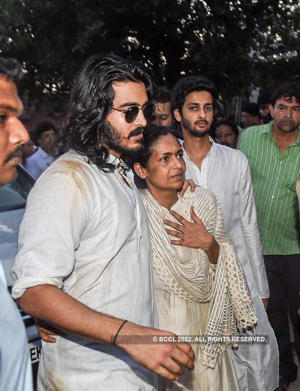 Vinod Khanna's funeral