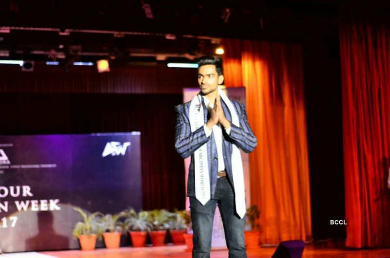 Vishnu Raj Menon attends  Ardour Fashion Week