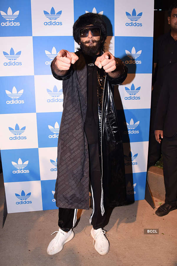 Ranveer Singh launches Adidas Originals store