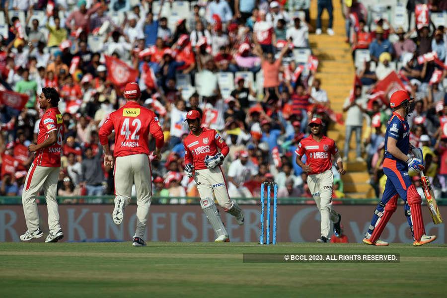 In pics: KXIP vs DD IPL match highlights